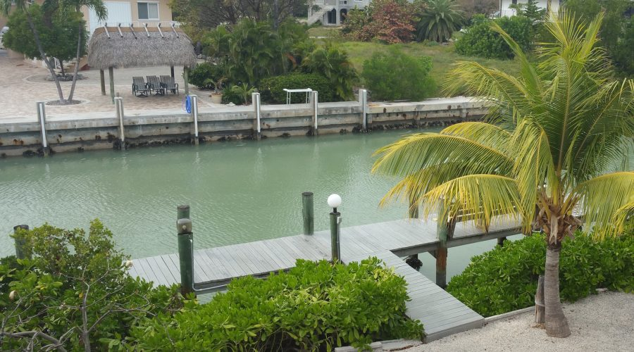 vacation rental home in Sombrero Beach Marathon on canal