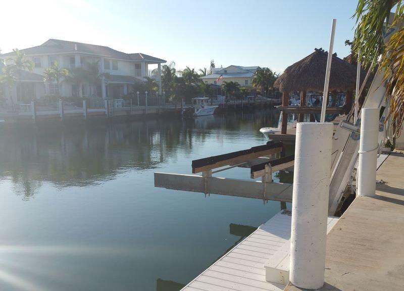 Key Colony Beach vacation rental with boat dock