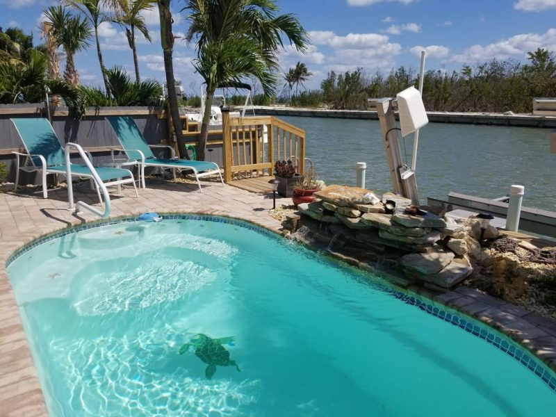 vacation rental with private pool in Marathon, Florida Keys
