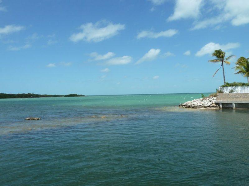 waterfront view at vacation rental in Marathon at Indigo Reef