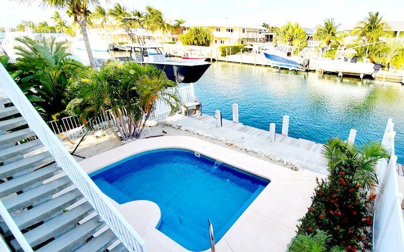 pool at Key Colony Beach vacation rental