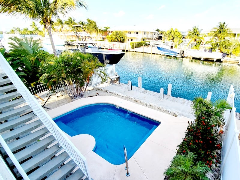 pool at Key Colony Beach vacation rental