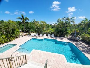 vacation rental with private pool in Sombrero Beach