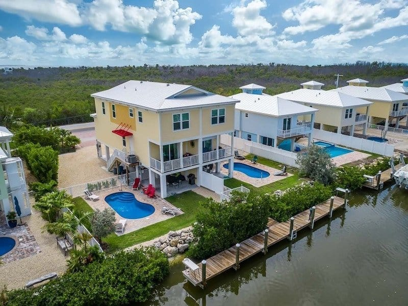 waterfront vacation rental house in Sombrero Beach, Marathon, Florida Keys